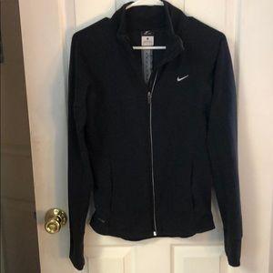 Nike full zip dri fit light weight jacket
